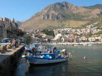 Pescatori a lavoro al porto   - Castellammare del golfo (587 clic)
