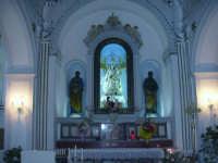 All'interno della chiesa della Madonna del Ponte   - Alcamo (1007 clic)