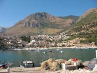 Una bella vista dal monte Inici e il porto  - Castellammare del golfo (618 clic)