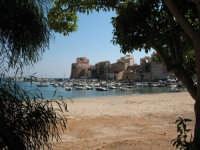 Il castello in lontananza  - Castellammare del golfo (623 clic)