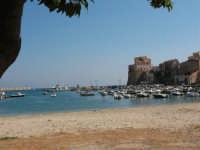 La spiaggetta del porto   - Castellammare del golfo (523 clic)