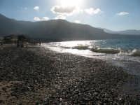 Spiaggia di Castellammare al tramonto  - Castellammare del golfo (536 clic)
