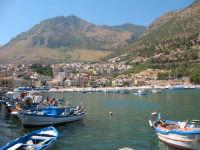 Cielo azzurro e mare turchese  - Castellammare del golfo (857 clic)