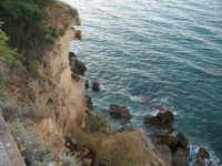Visto il mare dalla scogliera  - Castellammare del golfo (1105 clic)