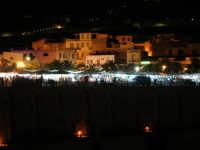 Castellammare di notte, e il mercatino in occassione della festa della Madonna   - Castellammare del golfo (976 clic)