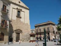 Piazza Ciullo, con chiesa di S. Oliva   - Alcamo (1193 clic)