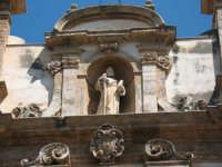 Facciata ,chiesa di S. Bartolomeo  - Alcamo (679 clic)