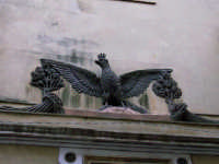 L'aquila , stemma di Alcamo  - Alcamo (5419 clic)