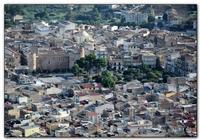 Zoommata Panorama della Città di Alcamo.    http://www.fiorinsetti.tk  - Alcamo (1568 clic)