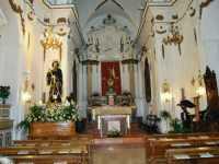 All'interno della chiesa di San Francesco da Paola  - Alcamo (2776 clic)