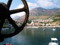 Il porto visto dall'alto  - Castellammare del golfo (924 clic)