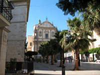 Chiesa del Colleggio,da un angolo di Piazza Ciullo  - Alcamo (990 clic)