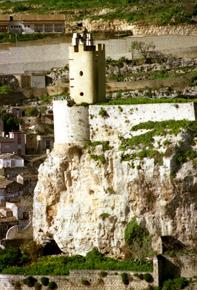 il castello dei conti (torre dell'orologio) - MODICA - inserita il