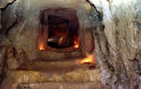 il castello dei conti (interno cunicolo sotto il castello)    - Modica (2327 clic)