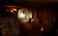 il castello dei conti (interno cunicolo sotto il castello)    - Modica (2379 clic)