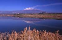 Etna vista da fiume Simeto  - Paternò (3522 clic)