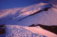 Inverno sull'Etna - tramonto  - Etna (1975 clic)