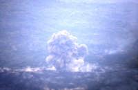Esplosione in Val Calanna  - Etna (2411 clic)