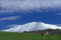 Vista sull'Etna d'inverno  - Troina (4179 clic)