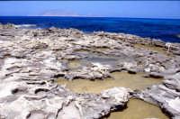 Erosione della scogliera  - Favignana (2380 clic)