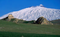 Etna vista dalle campagne di Troina - Foto di Giuseppe Accordino  - Troina (6365 clic)