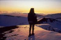 Tramonto sull'Etna a quota 2000 - Foto di Giuseppe Accordino  - Etna (2432 clic)