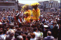 Festa di S.Alfio - sfilata dei carretti siciliani  - Trecastagni (18297 clic)