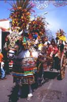 Festa di S.Alfio - sfilata dei carretti siciliani  - Trecastagni (7285 clic)
