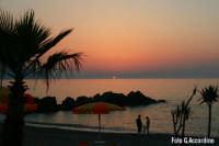 Tramonto sulla costa tirrenica  (2)-  Foto di Giuseppe Accordino  - Terme vigliatore (6355 clic)