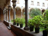 Itinerari Serpottiani: Chiostro della Chiesa Di Sant'Agostino (S.Rita)   - Palermo (11574 clic)