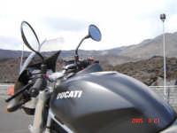 Rifuggio Sapienza................Passione Ducati  - Etna (2397 clic)
