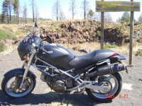 Cratere spento Riconco Favazzo Etna Nord...............Passione Ducati  - Etna (3398 clic)