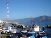 Panorama sullo stretto e piloni....  - Torre faro (5431 clic)