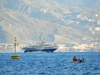 Vela Vela sullo stretto di Messina  - Messina (1971 clic)