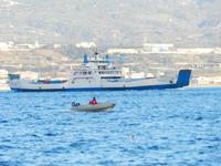 Vela Vela sullo stretto di Messina  - Messina (1998 clic)