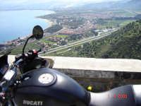 Salita del Tindari............Passione Ducati  - Falcone (6445 clic)