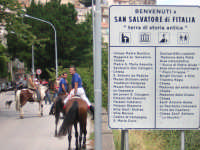 passeggiata a cavallo  - San salvatore di fitalia (3972 clic)