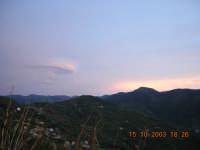 tramonto  - San salvatore di fitalia (4019 clic)