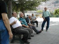 gente in piazza PALERMO Alessandro Trovato