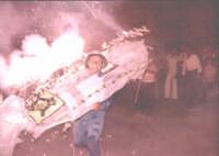Festa dell'Immacolata U' Sciccareddu anni 70'.  - Nizza di sicilia (6810 clic)