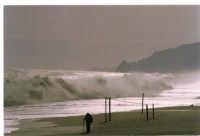 Mare in burrasca 2006 Nizza Sicilia mare d'inverno Febbraio 2006  - Nizza di sicilia (13619 clic)