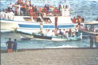 Processione a mare dell'Immacolata  - Nizza di sicilia (6224 clic)
