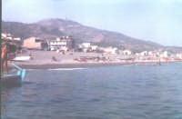 Spiaggia di Nizza S.vista dalla barca.  - Nizza di sicilia (6361 clic)