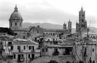 La Cattedrale di Palermo vista da Porta Carini PALERMO Guido  Caruso