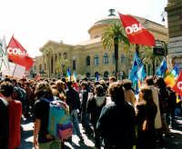 Manifestazione studentesca (Dicembre 2001) Teatro Massimo  PALERMO Guido  Caruso