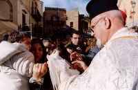 Processione a Mezzojuso La volata della colomba  PALERMO Guido  Caruso