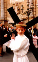 Ai Quattro Canti  (Venerdì Santo a Palermo anno 2005) PALERMO Guido  Caruso
