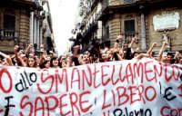 Protesta universitaria PALERMO Guido  Caruso