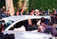 ARRESTO LO PICCOLO . davanti .a questura di palermo   - Palermo (5900 clic)