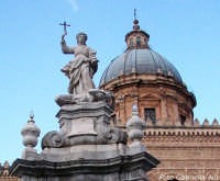 La Cattedrale. Statua di Santa Rosalia PALERMO Gabriella Alù